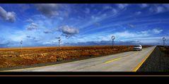 Patagonien - Monumento al Viento - Monument des Windes