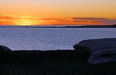 Patagonischer Sonnenuntergang