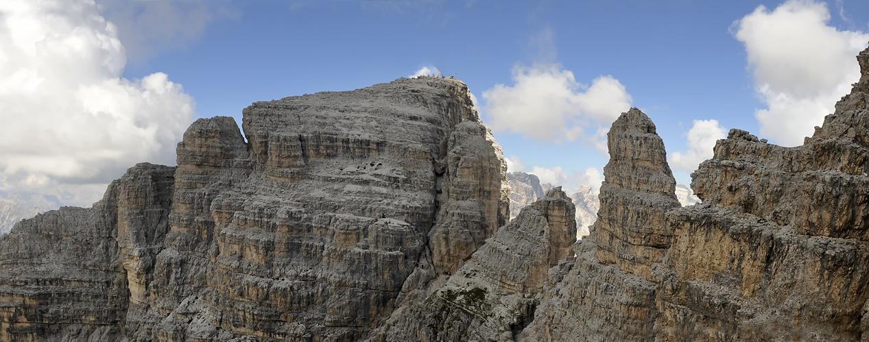 ... Paternkofel / Paterno ...2744 m Innerkofler-Klettersteig (Dolomiten) ...