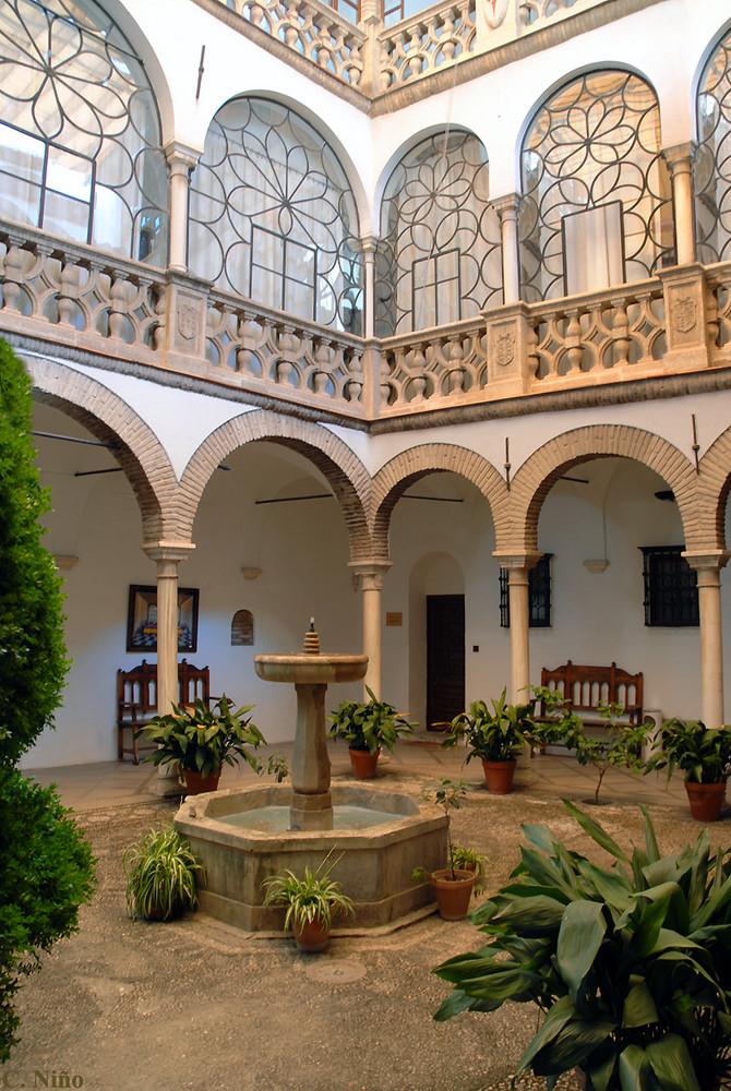 Patio andaluz en granada imagen foto arquitectura - Fotos patio andaluz ...
