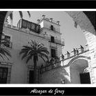 Patio de Armas. Alcazar de Jerez.