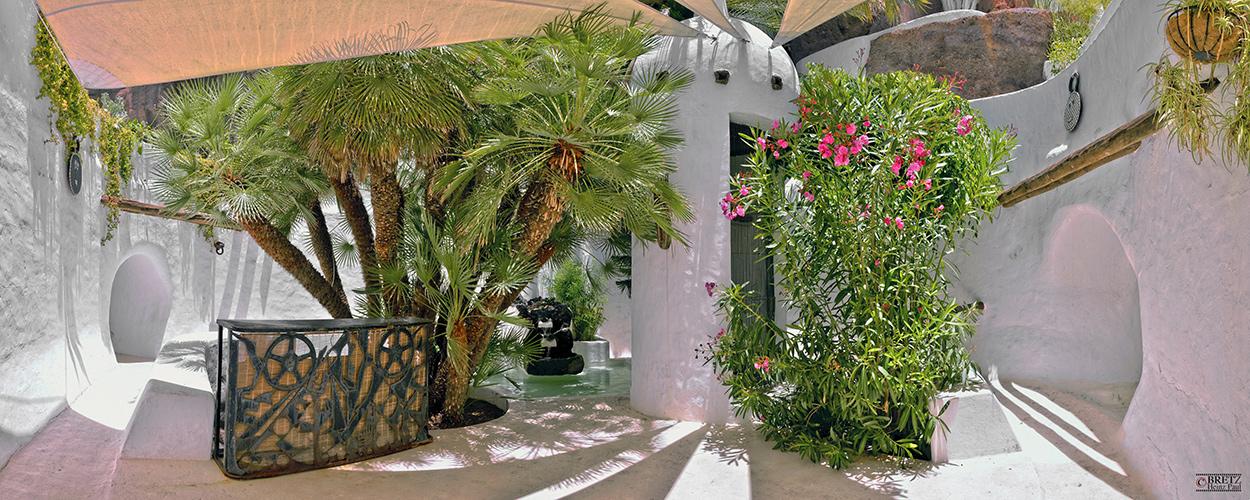Patio de Casa Omar Sharif__
