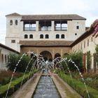 """Patio de la Acequia"" in der Alhambra"
