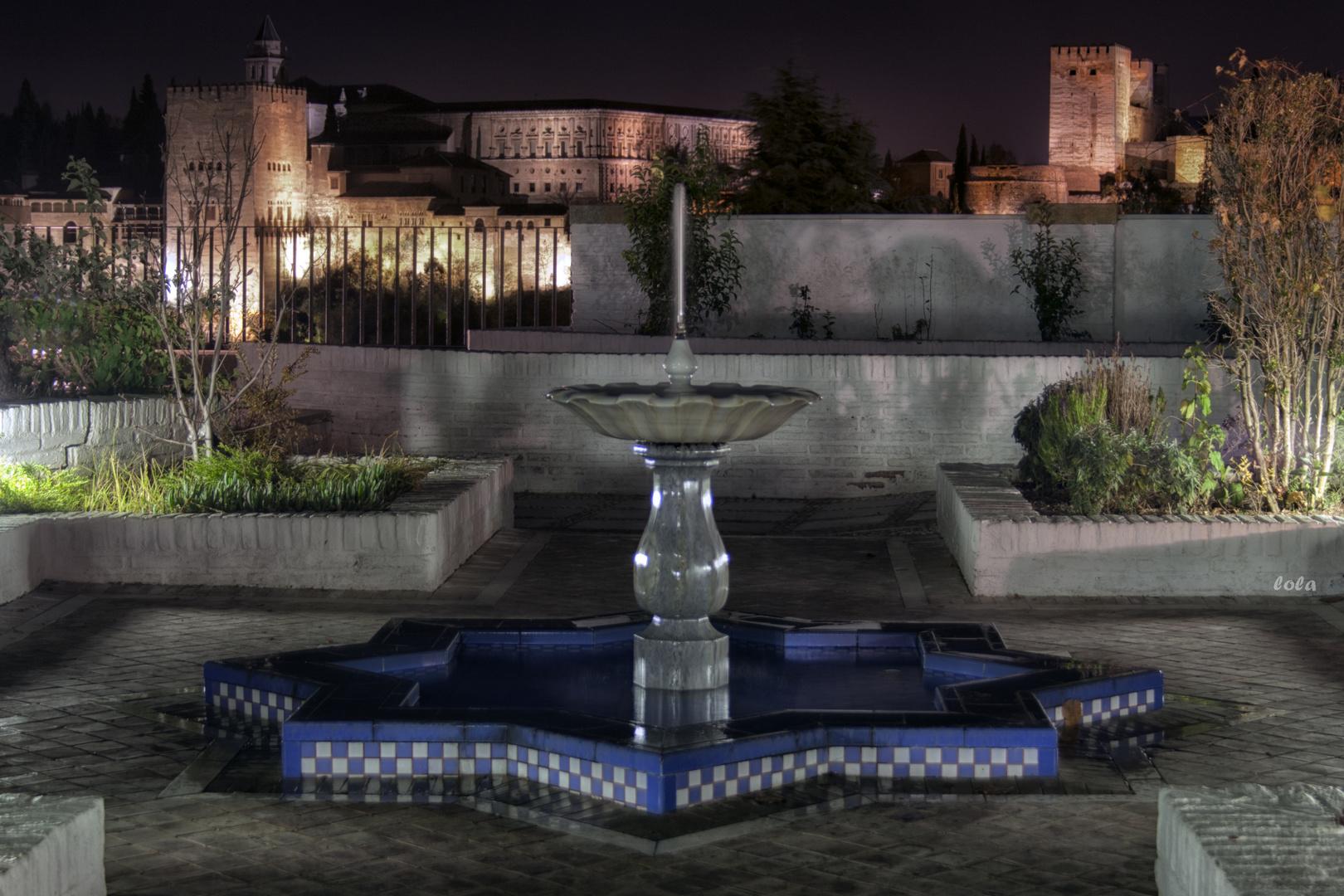 Patio de la Mezquita Mayor de Granada