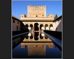 Patio de los Arrayanes mit Torre de Comares