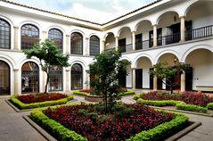 Patio del Museo Botero