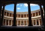 Patio del Palacio de Carlos I