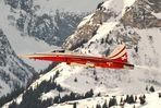 Patrouille Suisse am Lauberhorn/Wengen