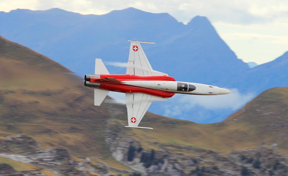 Patrouille Suisse --> der Mitzieher