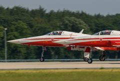 Patrouille Suisse taking off