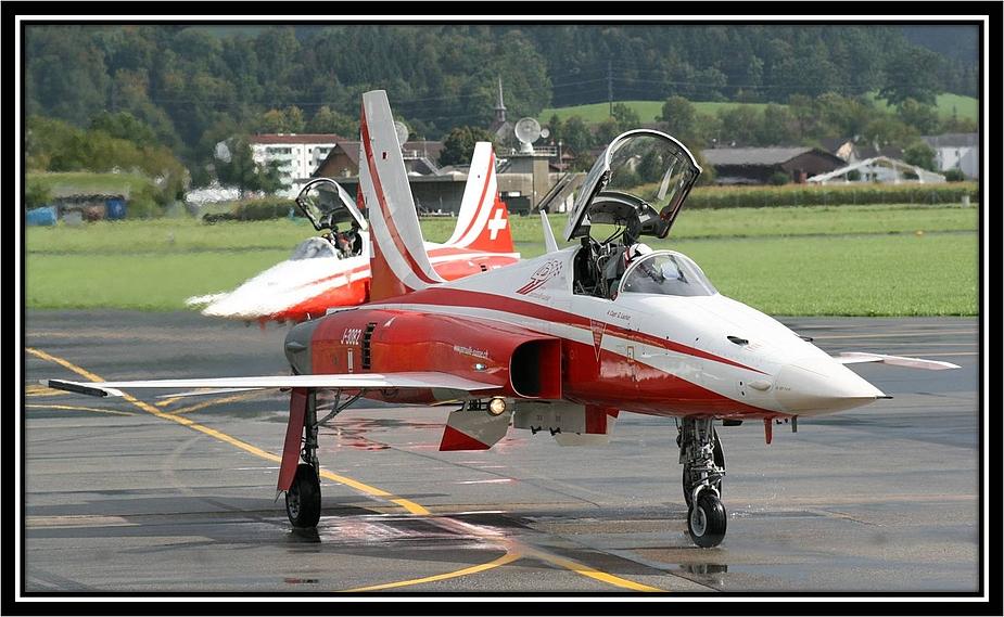 Patrouille Suisse Training am 04.09.2009