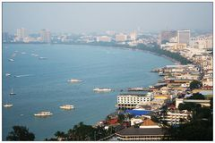 Pattaya, from hill view