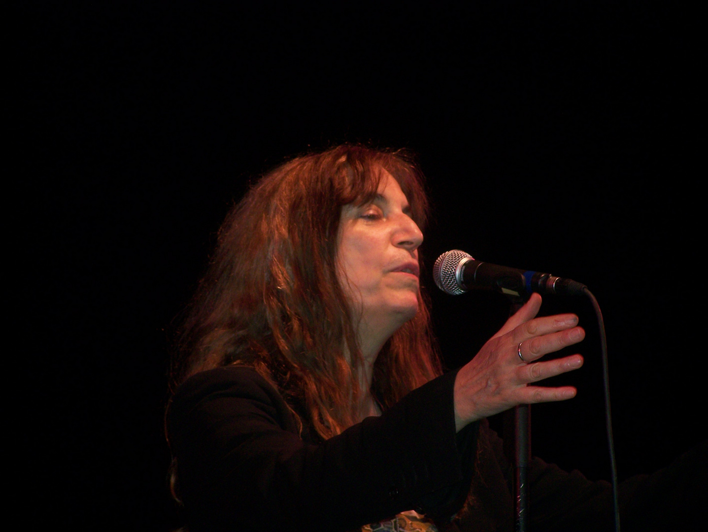 Patti Smith in Bonn - II
