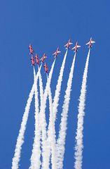 pattuglia red arrow royal air force 1