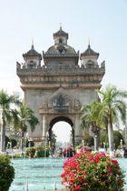 Patuxay in Vientiane