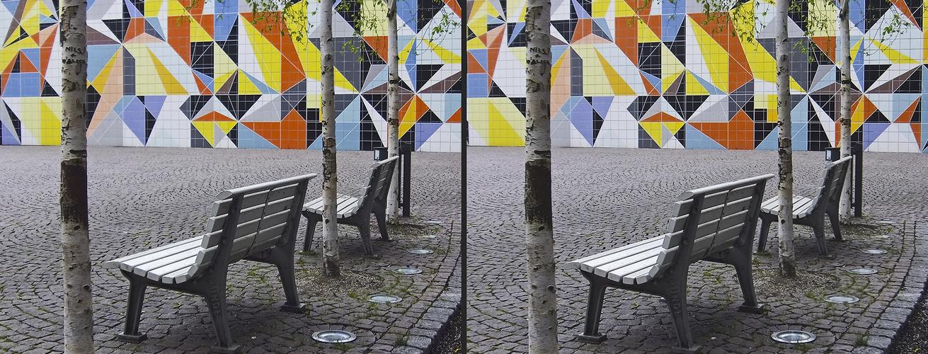 Paul-Klee-Platz - Düsseldorf (3D)