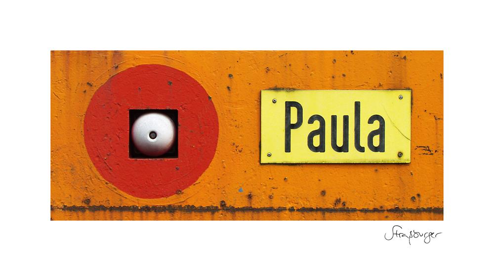 Paula auf Knopfdruck