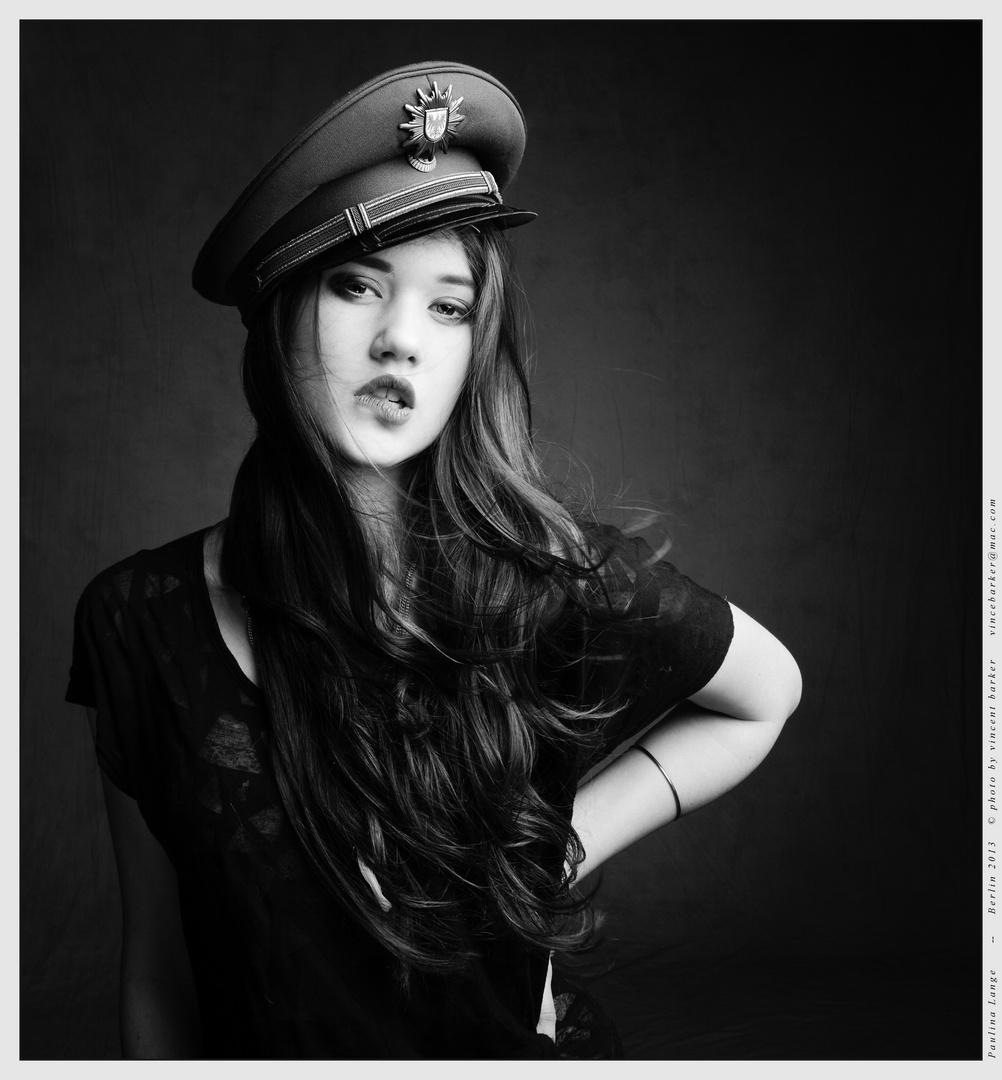 Paulina - police hat