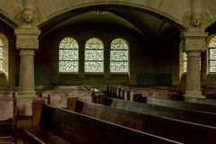 Paulskirche in Basel Innenraum 01