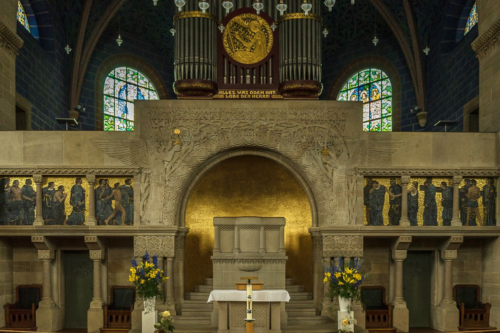 Paulskirche in Basel - Innenraum