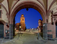 Paulskirche und Paulsplatz neu