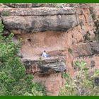 Pause am Grand Canyon