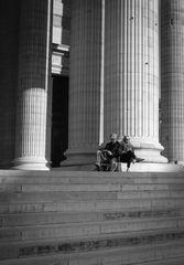 Pause am Panthéon