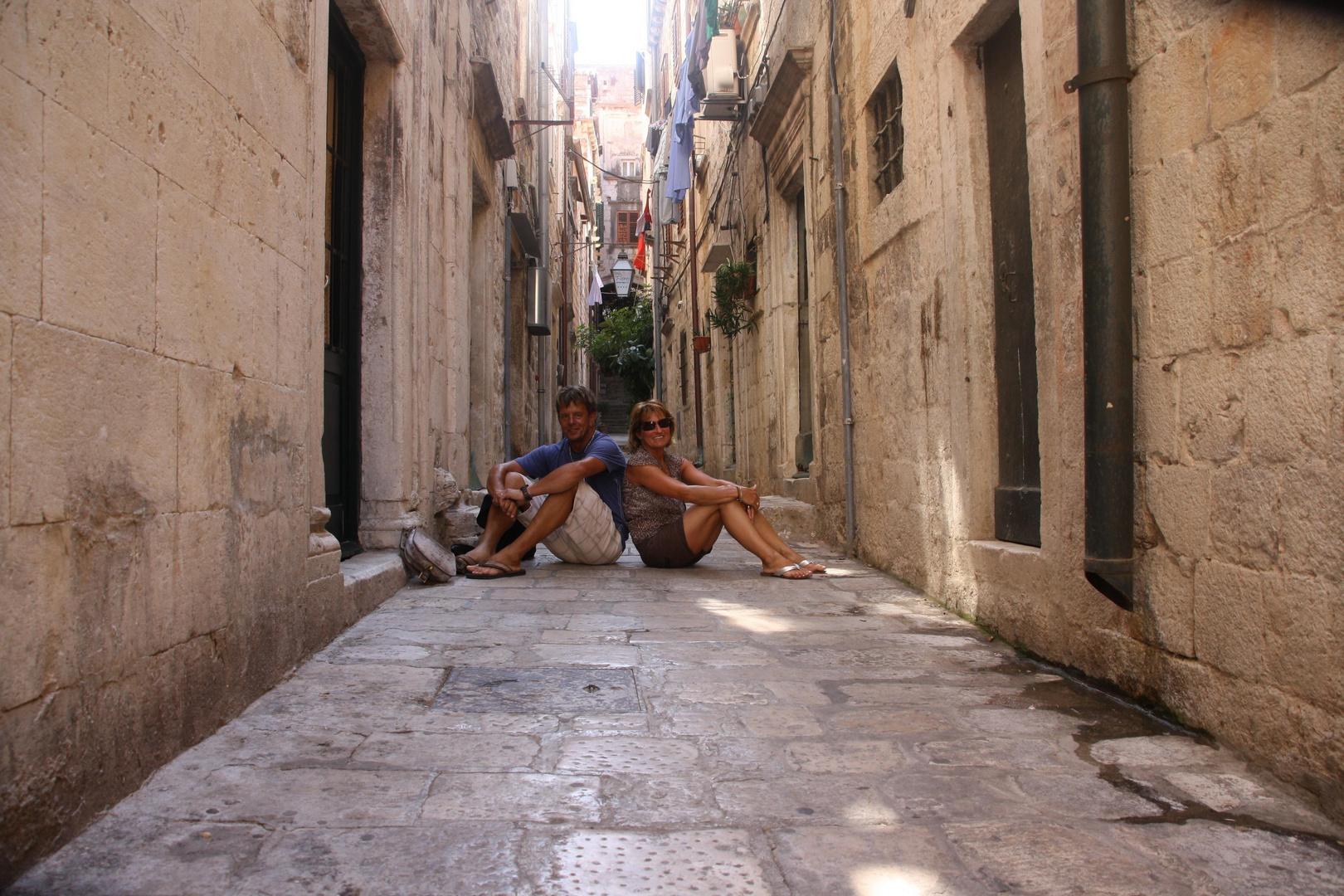 Pause in Dubrovnik