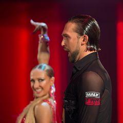 Pavel Zvychaynyy und Oxana Lebedew beim ChaChaCha