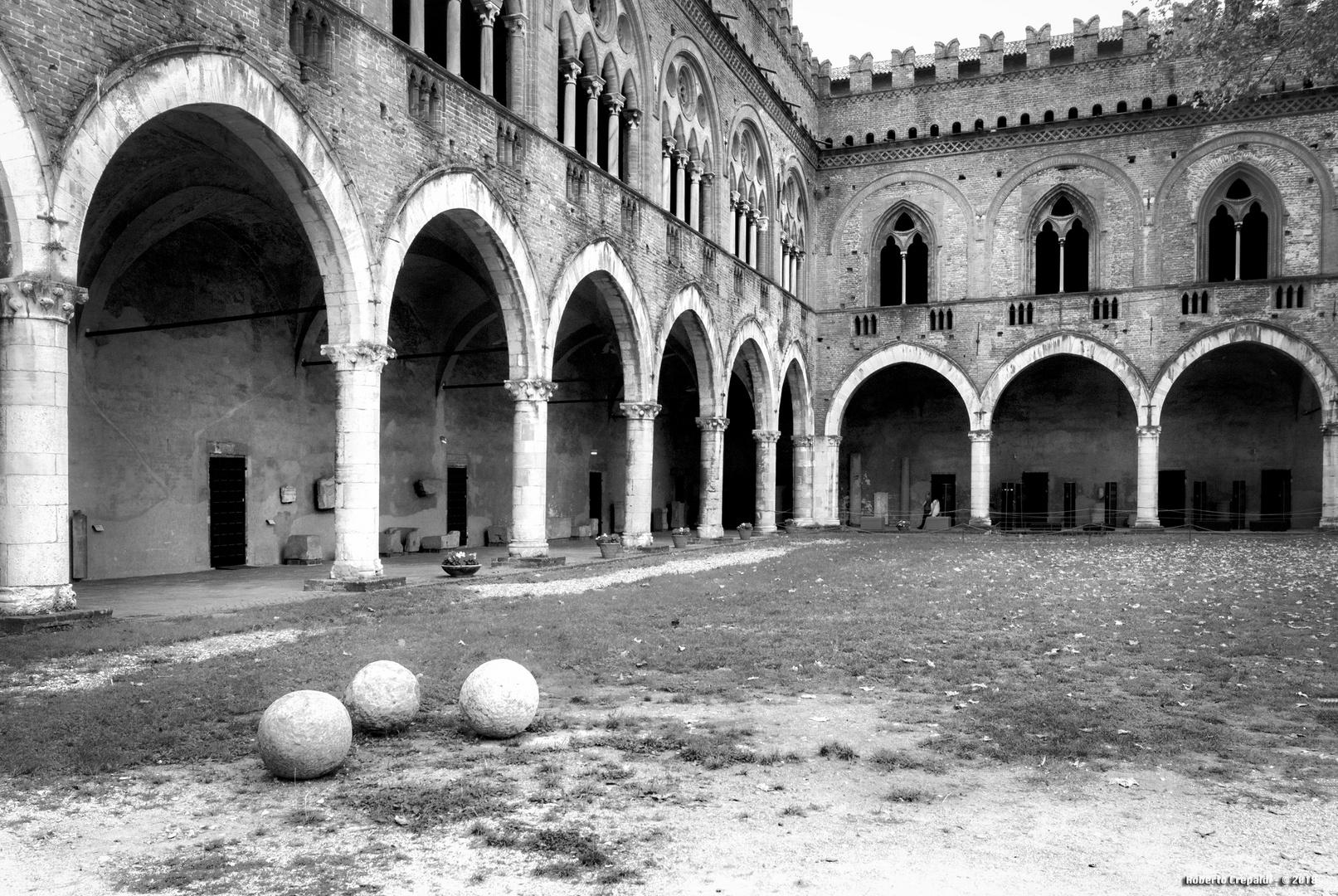 Pavia, castello Visconteo