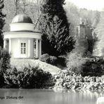 Pavillion im Bergpark, Kassel, Deutschland.