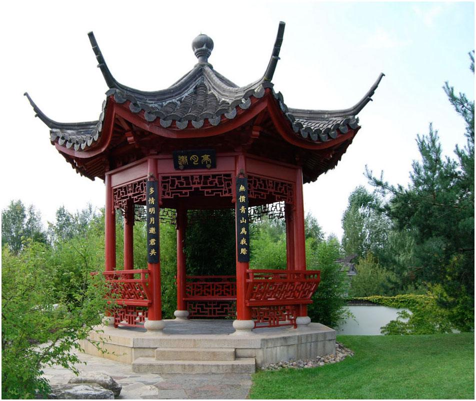 pavillon im chinesischen garten foto bild landschaft garten parklandschaften berlin. Black Bedroom Furniture Sets. Home Design Ideas