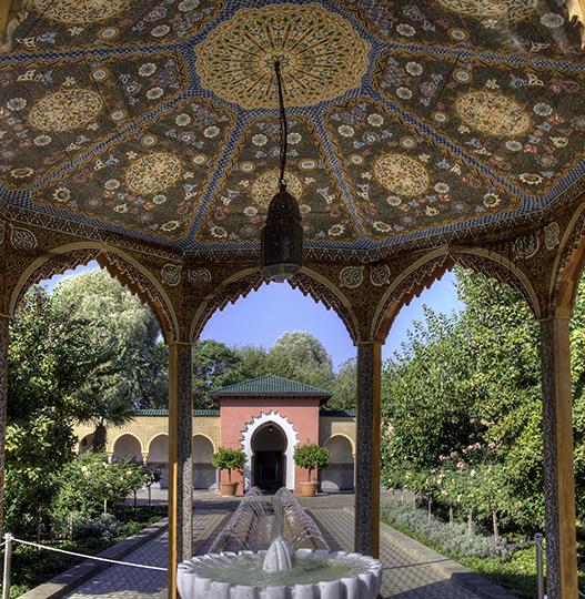 Orientalischer Garten Marzahn: Pavillon Im Orientalischen Garten, Gärten Der Welt, Berlin