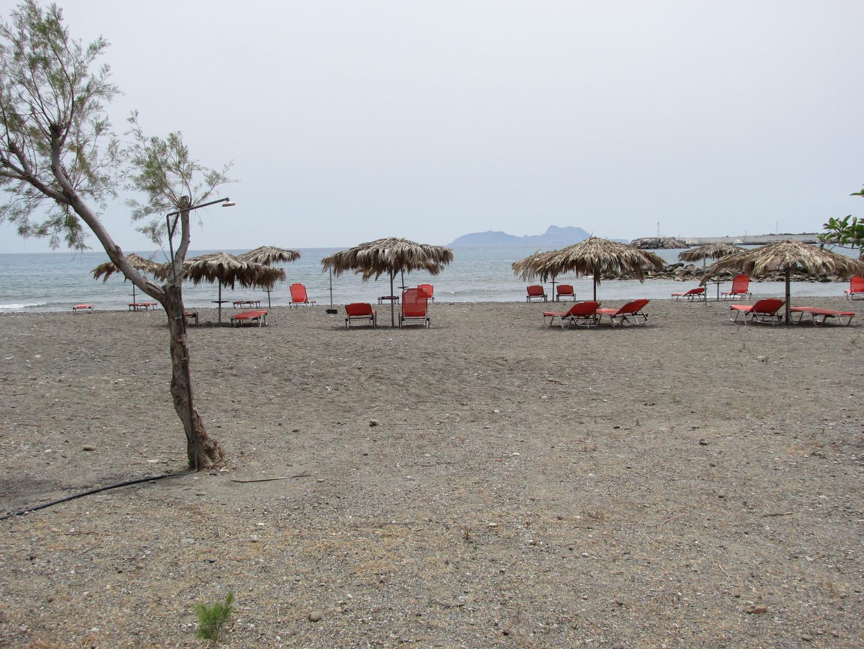 Paximadia-Inseln von Agia Galini aus gesehen