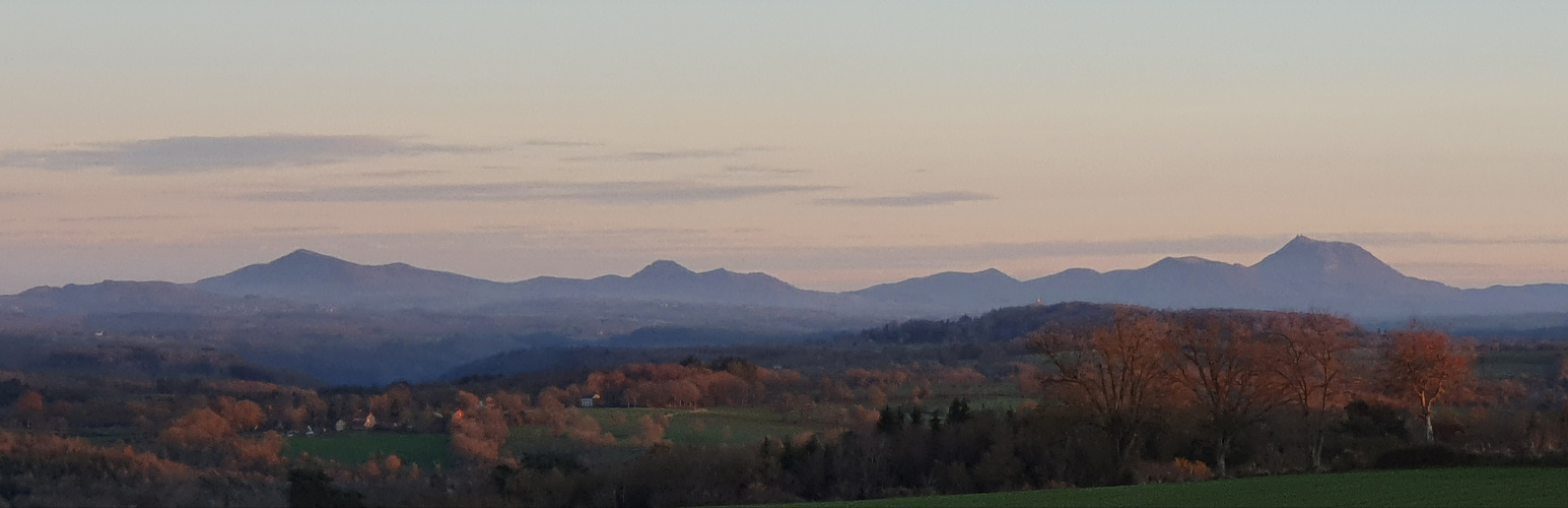 Paysage, Auvergne