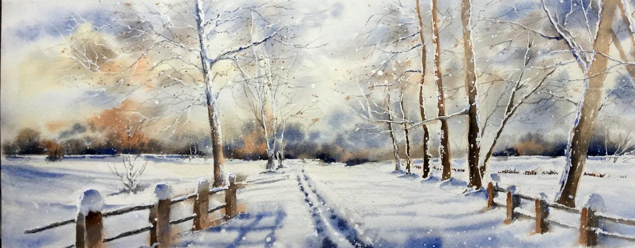 Paysage de neige (1)