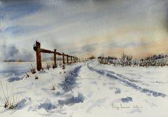 Paysage de neige (2)