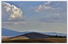 paysage de toscane...