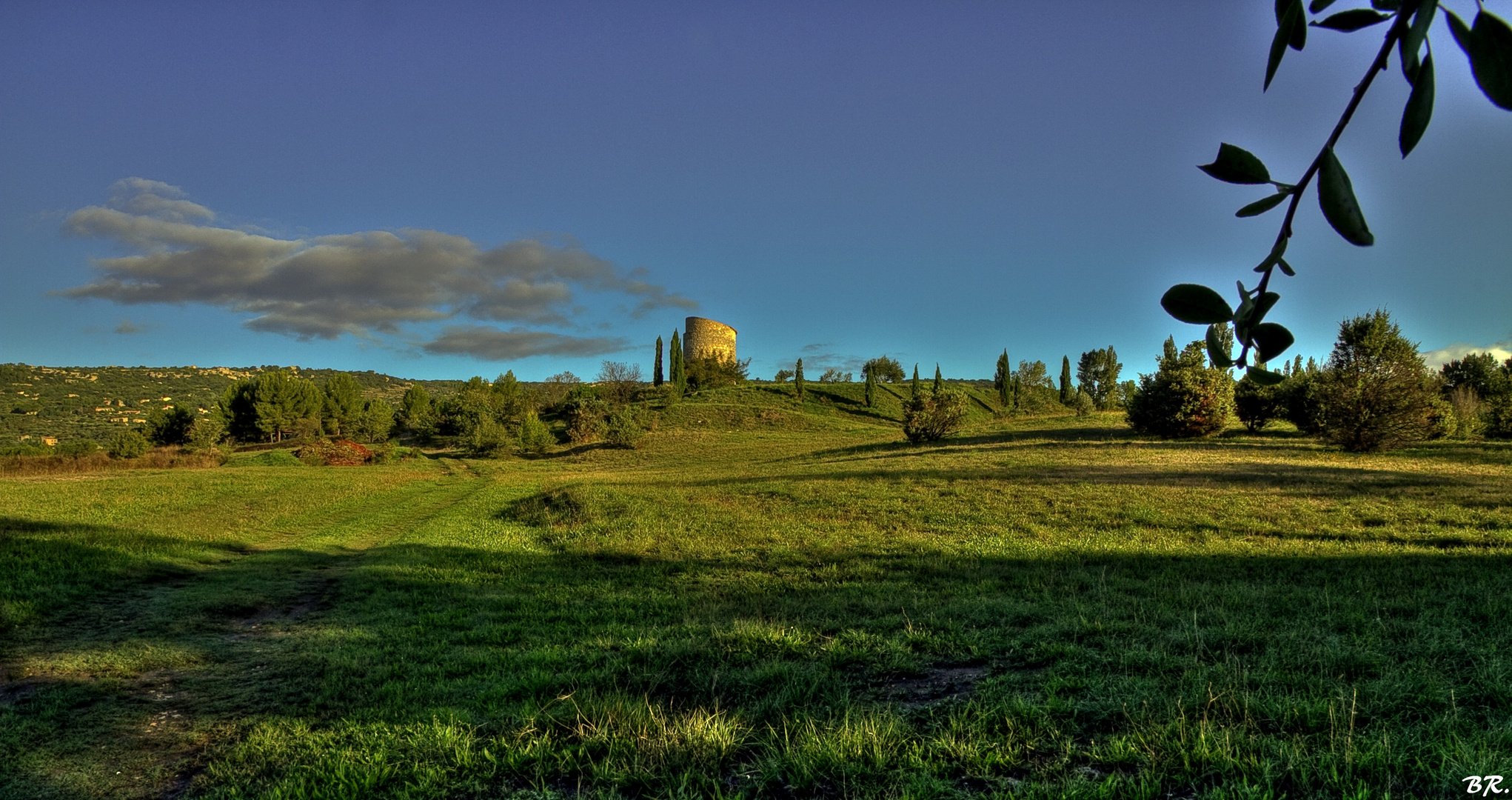 paysage de Vaucluse