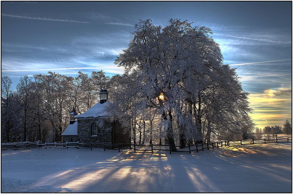 Paysage hivernal 2