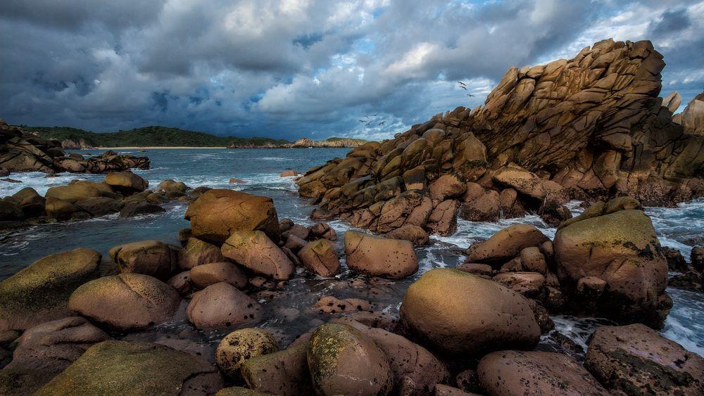 Pazifische Küste Mexikos