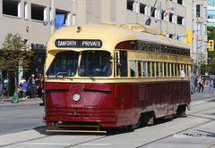 PCC Wagen Nr. 4500 der Straßenbahn in Toronto