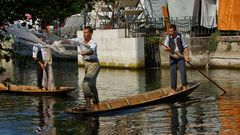 Pêche d'Antan (04) - Fischernetzauswurf