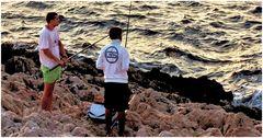 Pêche de roche