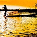 pêcheur birman