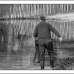 Pêcheur chanceux...ou pas...