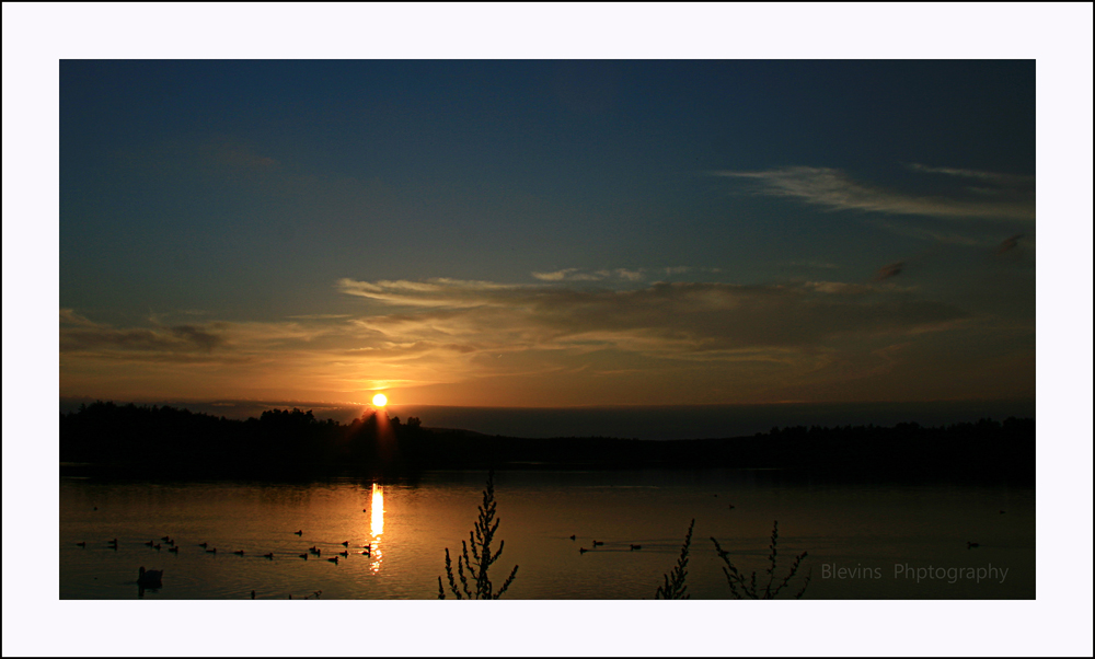 Peaceful Sunset II