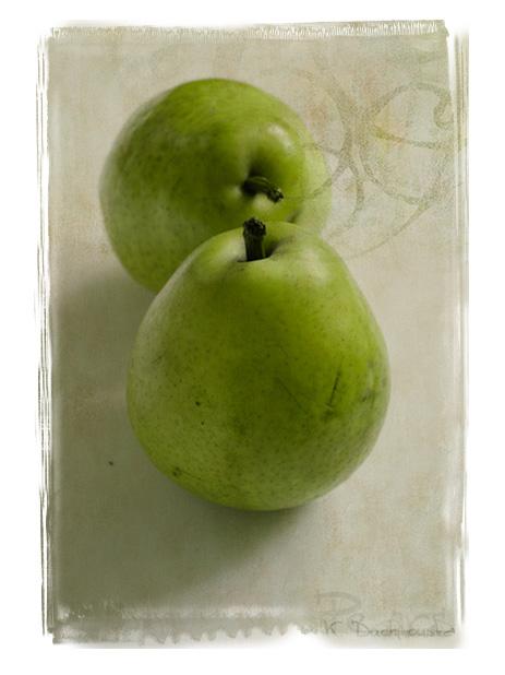 ...pears...