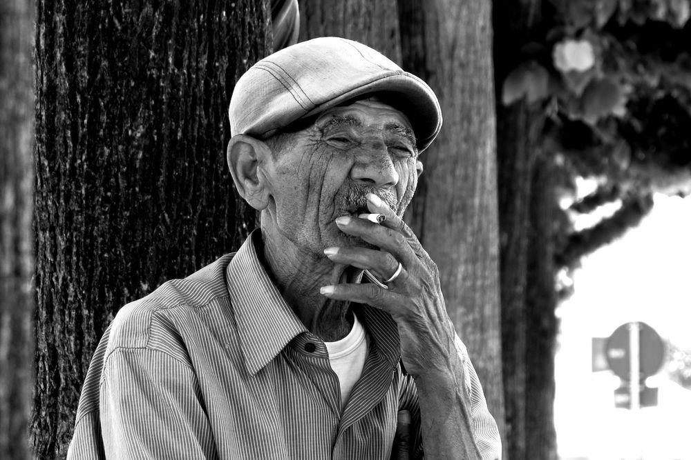 Peasant: ... one more cigarette