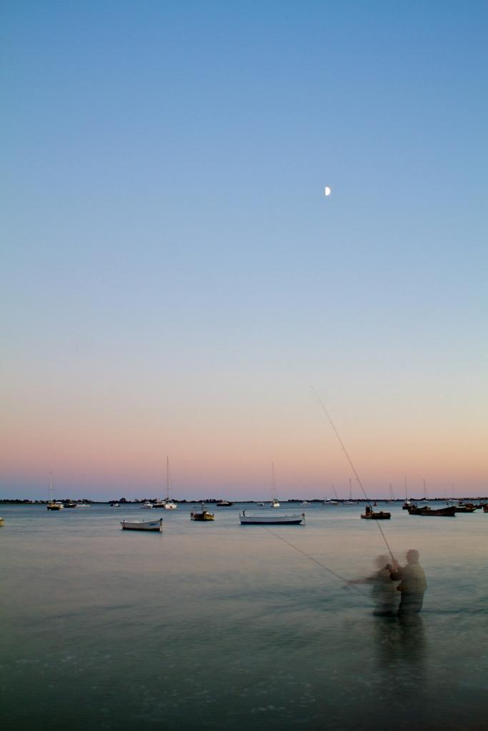Pecheur au clair de lune